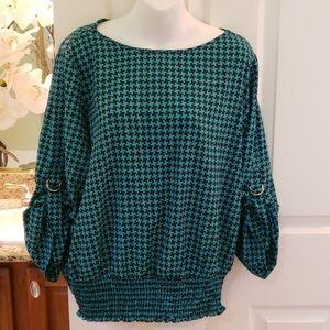 Cute Michael Kors blouse NWOT size 1X